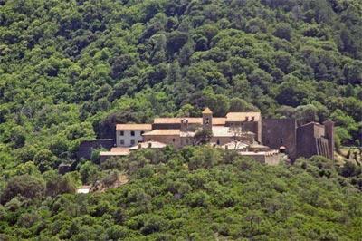 """The monastery, """"La Chartreuse de la Verne"""" near Cogolin"""