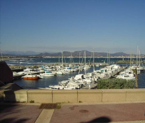 St Aygulf's port