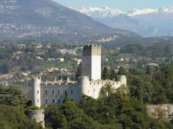 Villeneuve Loubet castle
